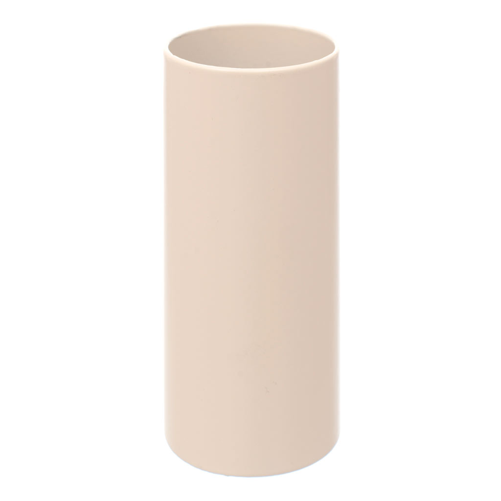 28mm dia x 68mm Ivory Candle Tube