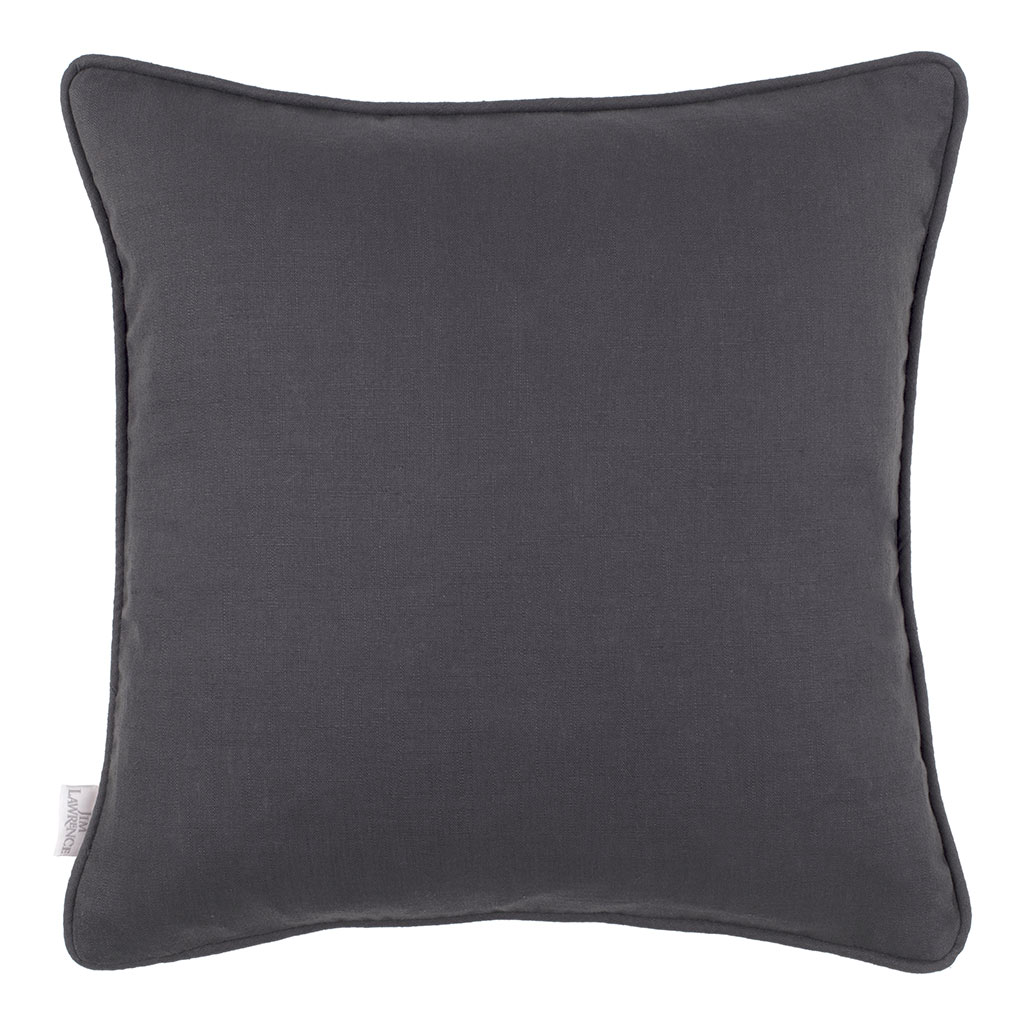 Killowen Linen Cushion Cover in Pewter