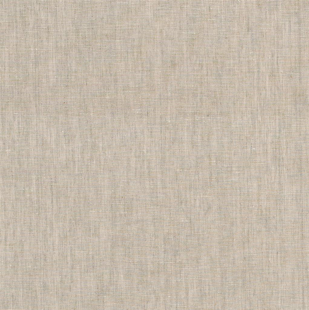 Isabelle Linen Fabric in Natural (Plain)