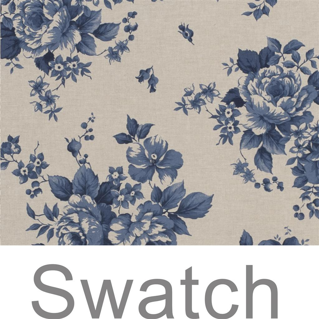 Swatch of Blue Bloom