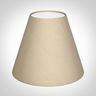 Bathroom Candle Shade in Royal Oyster Silk