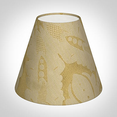 Candle Shade in Cream & Gold Chatsworth