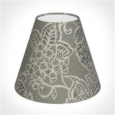 Candle Shade in Grey Cheveley