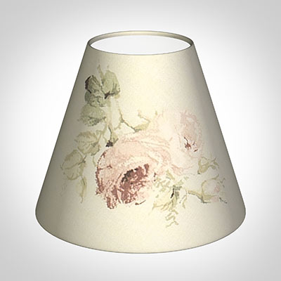 Candle Shade in Antique Rosanna