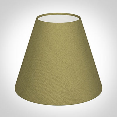 Candle Shade in Antique Gold Silk