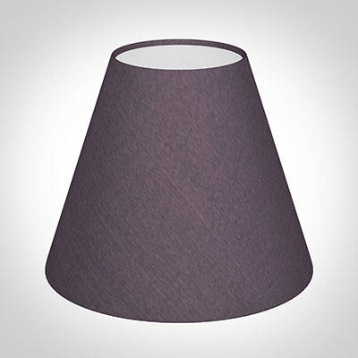 Candle Shade in Heather Silk
