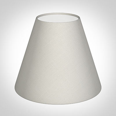 Candle Shade in Off White Waterford Linen