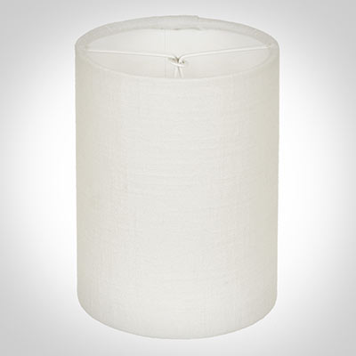 Cylinder Candle Shade in Cream Killowen Linen