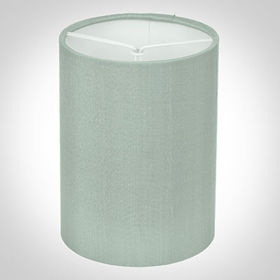 Cylinder Candle Shade in French Grey Silk