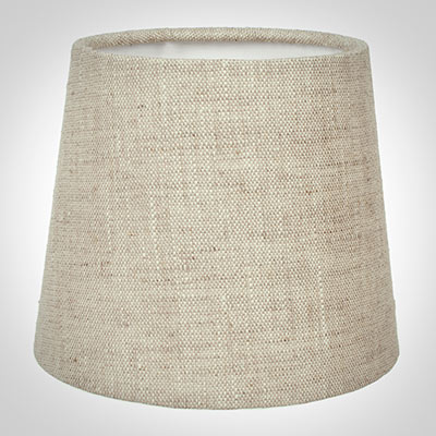 French Drum Candle Shade in Natural Isabelle Linen