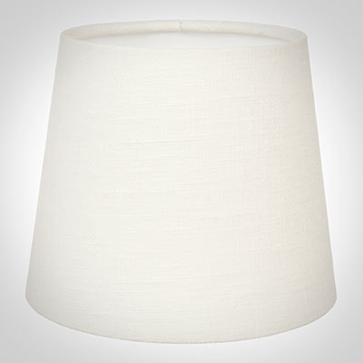 French Drum Candle Shade in Cream Killowen Linen