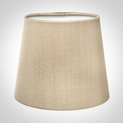 French Drum Candle Shade in Royal Oyster Silk