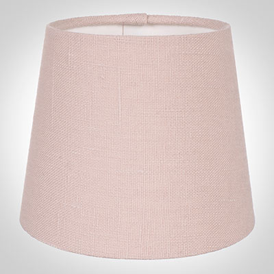French Drum Candle Shade in Vintage Pink Waterford