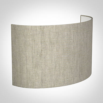 32cm Carlyle Half Shade in Natural Isabelle Linen(with Shade RIng)