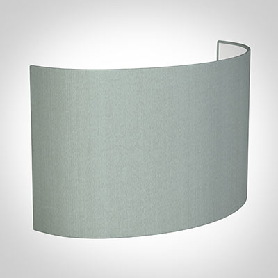 32cm Carlyle Half Shade in French Grey Silk (withShade Ring)