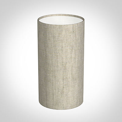 13cm Narrow Cylinder Shade in Natural IsabelleLinen