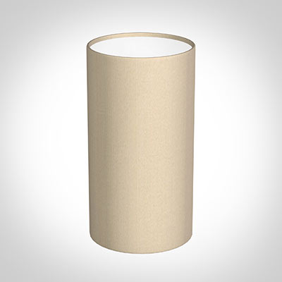 13cm Narrow Cylinder Shade in Royal Oyster Silk