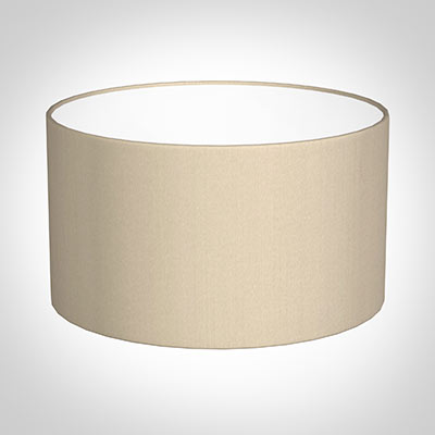 30cm Wide Cylinder Shade in Royal Oyster Silk