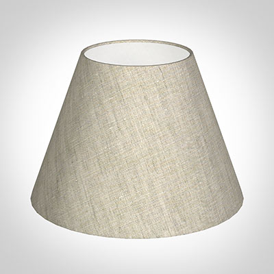 25cm Empire Shade in Natural Isabelle Linen
