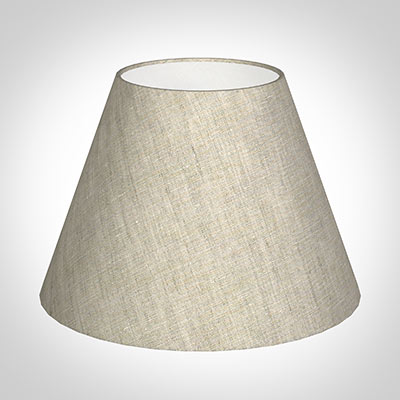 30cm Empire Shade in Natural Isabelle Linen