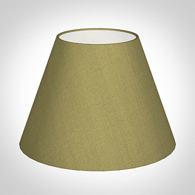 30cm Empire Shade in Antique Gold Silk