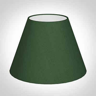 30cm Empire Shade in Rainforest Green Silk(discontinued, only stock shown available)
