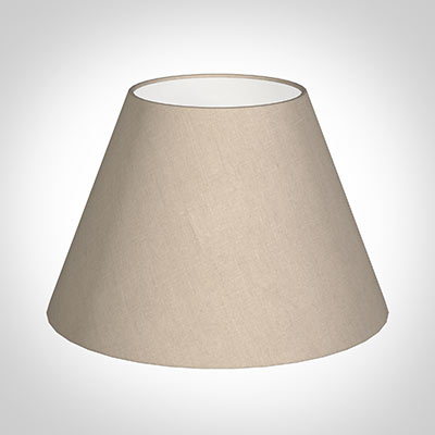 40cm Empire Shade in Putty Killowen Linen