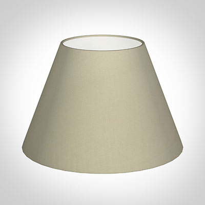 40cm Empire Shade in Pale Smoke Satin