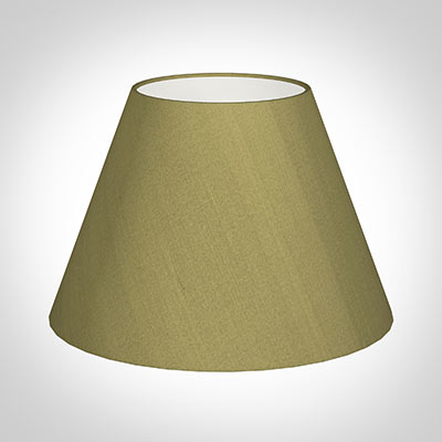 45cm Empire Shade in Antique Gold Silk