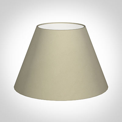 50cm Empire Shade in Pale Smoke Satin
