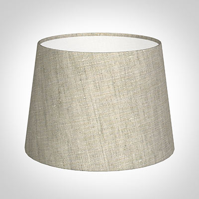 20cm Pendant Medium French Drum Shade in Natural Isabelle Linen