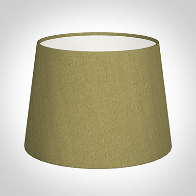 20cm Medium French Drum Shade in Antique Gold Silk