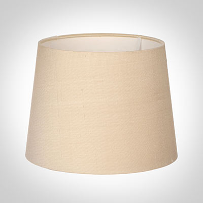 20cm Medium French Drum Shade in Buttermilk Silk