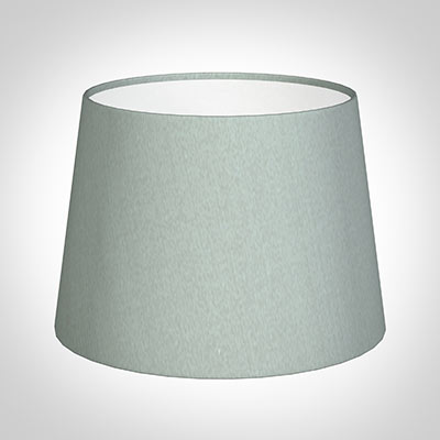 20cm Medium French Drum Shade in French Grey Silk
