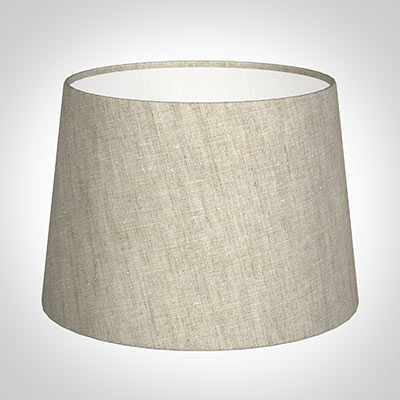 30cm Pendant Medium French Drum Shade in Natural Isabelle Linen