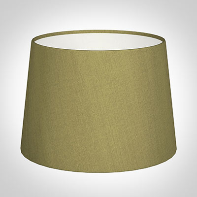30cm Medium French Drum Shade in Antique Gold Silk