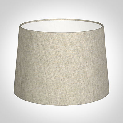 35cm Medium French Drum Shade in Natural Isabelle Linen