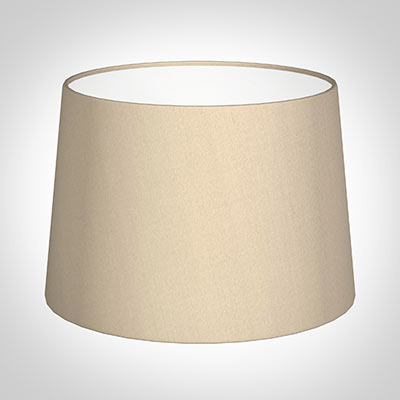 35cm Pendant Medium French Drum Shade in Royal Oyster Silk