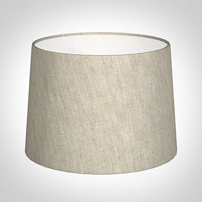 40cm Medium French Drum Shade in Natural IsabelleLinen