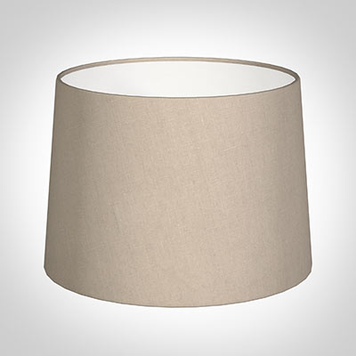 40cm Medium French Drum Shade in Putty Killowen Linen