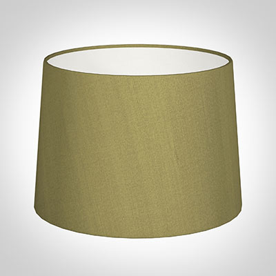40cm Medium French Drum Shade in Antique Gold Silk