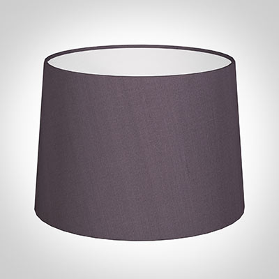 40cm Medium French Drum Shade in Heather Silk