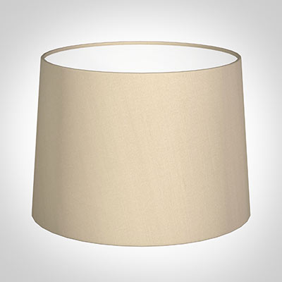 45cm Medium French Drum Shade in Royal Oyster Silk