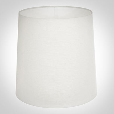 25cm Narrow French Drum Shade in Cream Killowen Linen