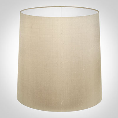 40cm Narrow French Drum Shade in Royal Oyster Silk