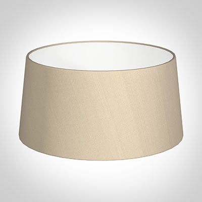 45cm Pendant Wide French Drum Shade in Royal Oyster Silk