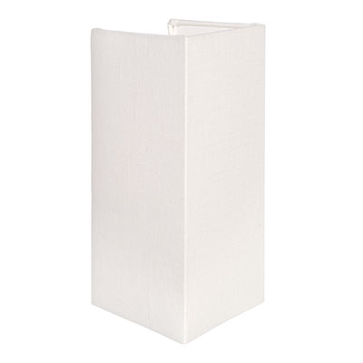 13cm Rectangular Lamarsh Shade in Cream Killowen