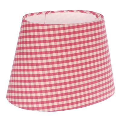20cm oval lamp shade candy pink gingham lampshades jim lawrence 10o20lgcps 1g aloadofball Images