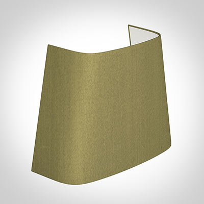 Penrose Half Shade in Antique Gold Silk (withCandle Clip)