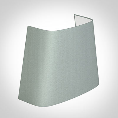 Penrose Half Shade in French Grey Silk (withCandle Clip)